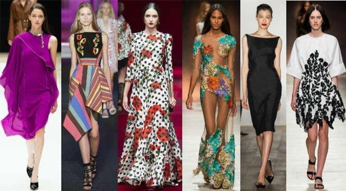 b2ac62fead8 Модные платья весна-лето 2017  5 главных трендов года