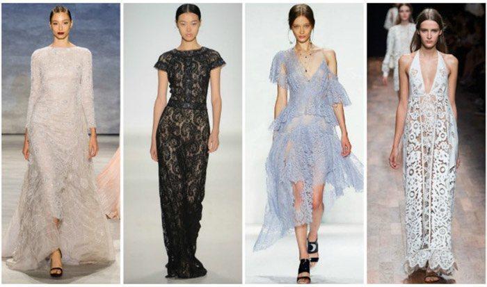Нарядные женские платья на лето