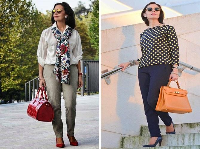 Как стильно и современно одеваться женщине в 55 лет