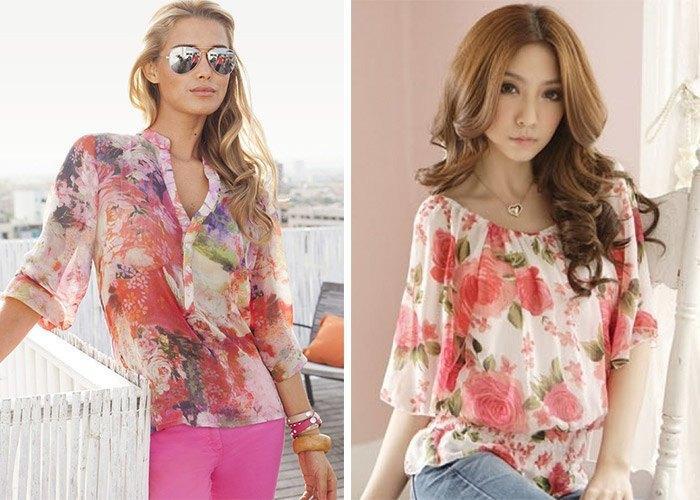 Модные Блузки Из Шифона 2014 В Москве