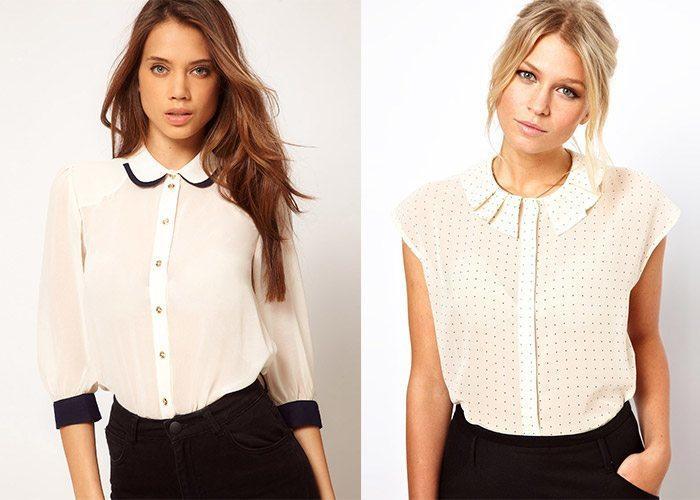 Шифоновые блузки 2015