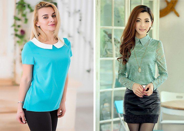 Модные Блузки Шифоновые 2015 Доставка