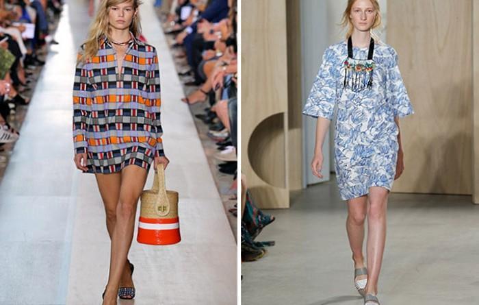 Лучшее платье-туника 2016: тренд лета