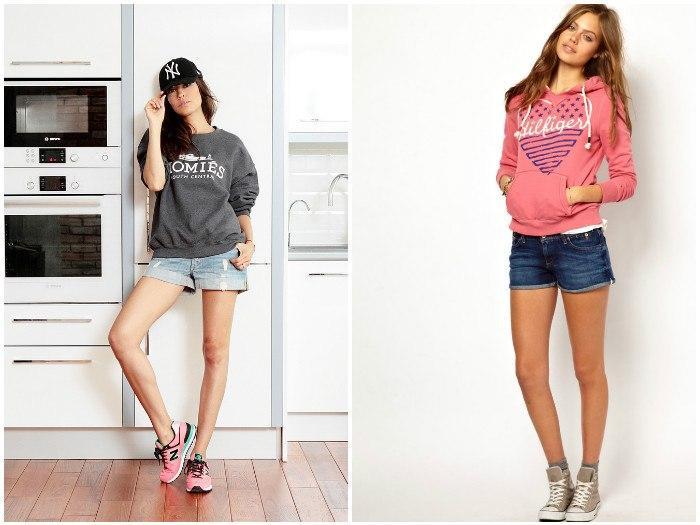 Модные свитшоты