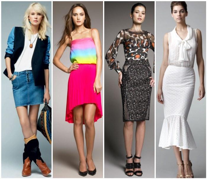 Модные образы одежды с обувью