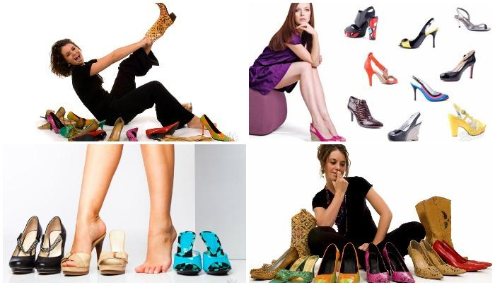 Сочетание обуви и одежды