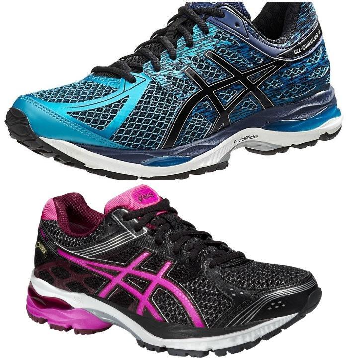 Массивные кроссовки для бега
