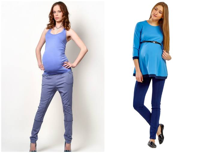 Выбор брюк для беременных