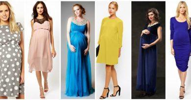 Платья для беременных разных фасонов