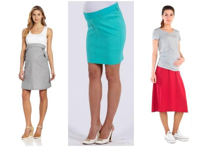 Фасон юбки для беременных