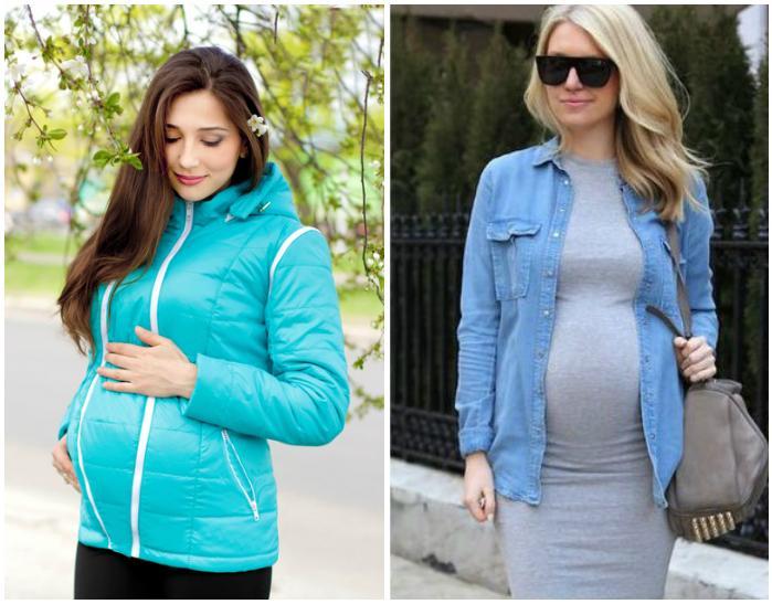 Весенний образ для беременных
