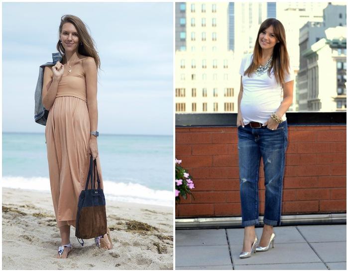 Модные луки для беременных