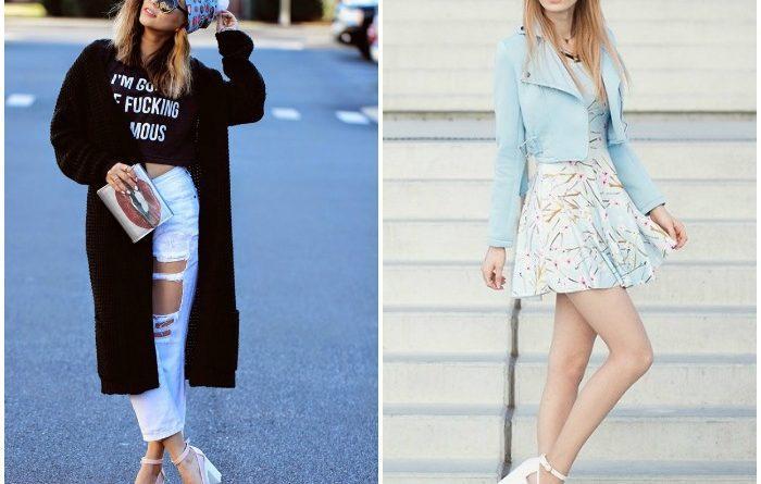 С чем можно носить белые туфли девушке (50 фото) e559ff25366