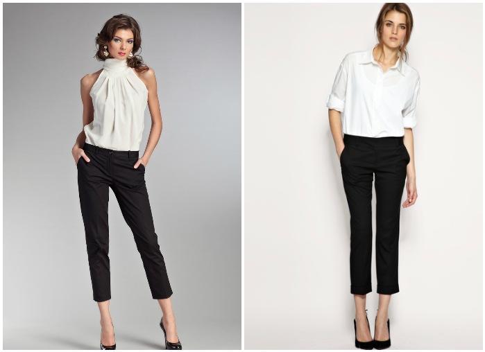 Классический образ с короткими брюками