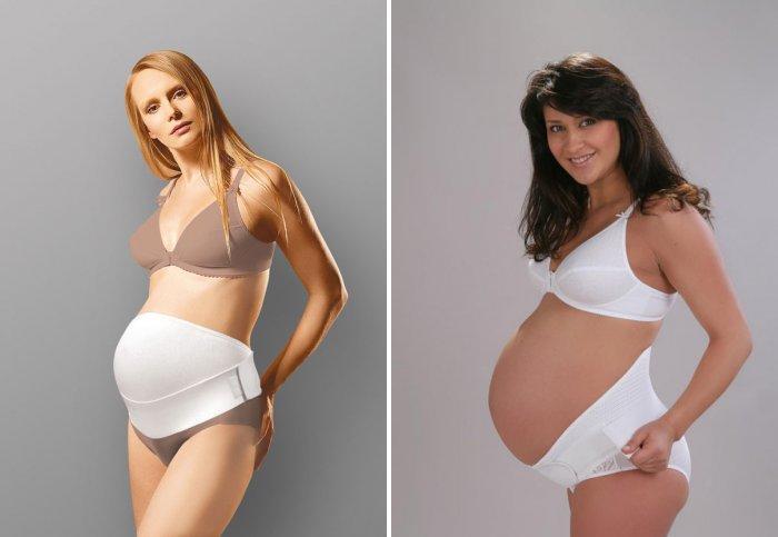 Бандаж для поздних сроков беременности