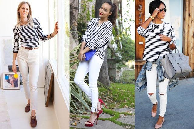 Белые брюки: подбираем обувь