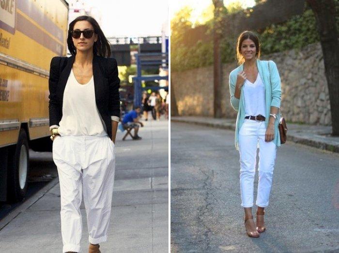 Модные брюки чинос