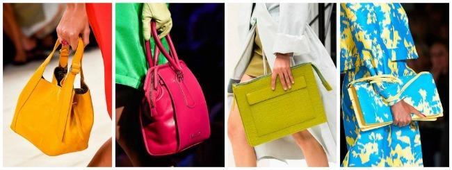 Разноцветные сумки: на любой вкус
