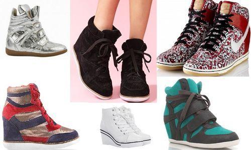Кеды и кроссовки на платформе