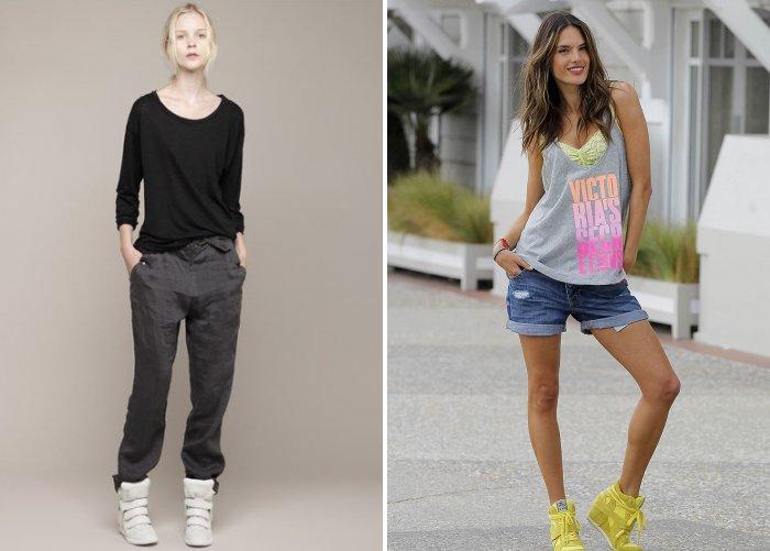 Кроссовки на платформе: повседневный стиль