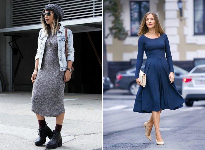 С чем носить платье?