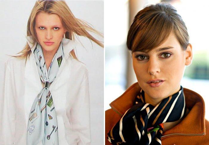Шейный платок: стильно и удобно