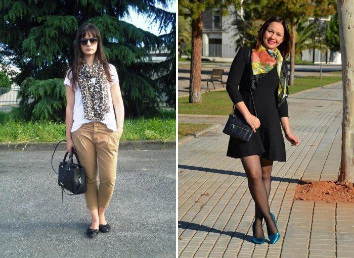 Шейный платок: летний вариант