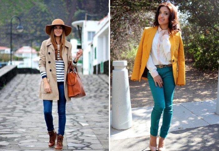 Стиль кэжуал в сочетании с пиджаком