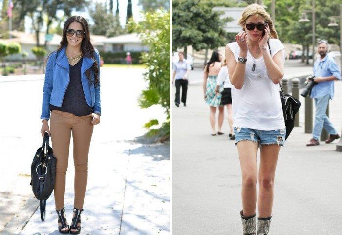 Повседневная одежда стиля кэжуал