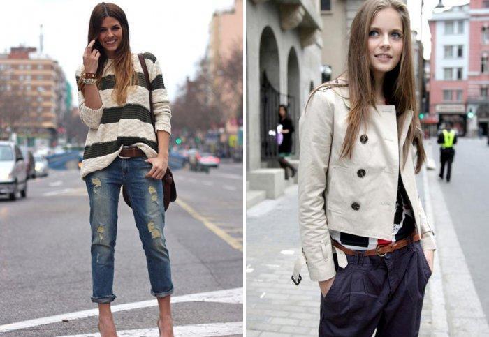 Свободные свитера и пиджаки стиля кэжуал