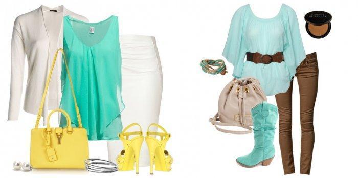 Бирюзовая блузка: деловой и модный стиль