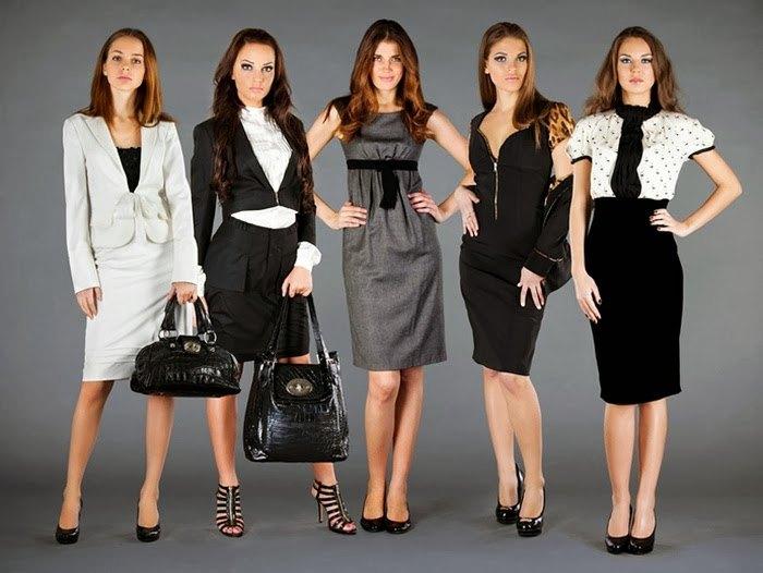 Деловой стиль одежды для современной женщины