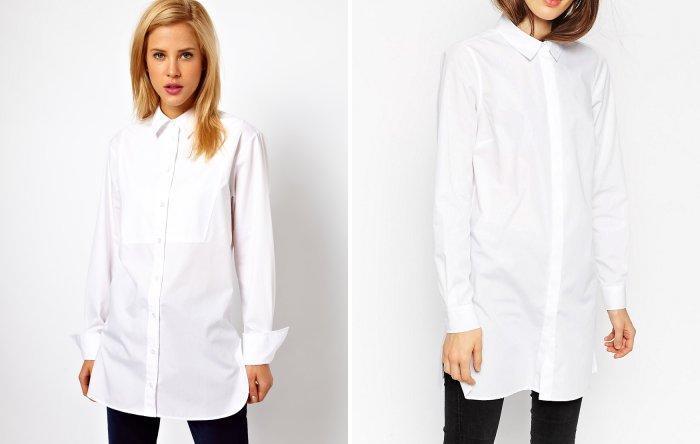 Длинная блуза для образа деловой женщины