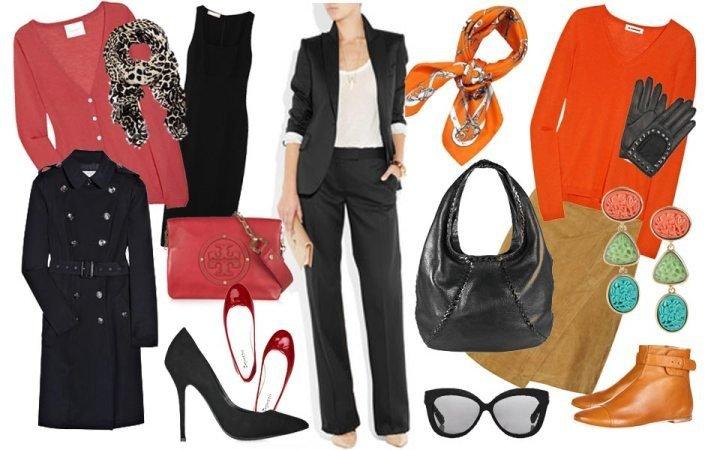 Яркие дополнения к гардеробу деловой женщины