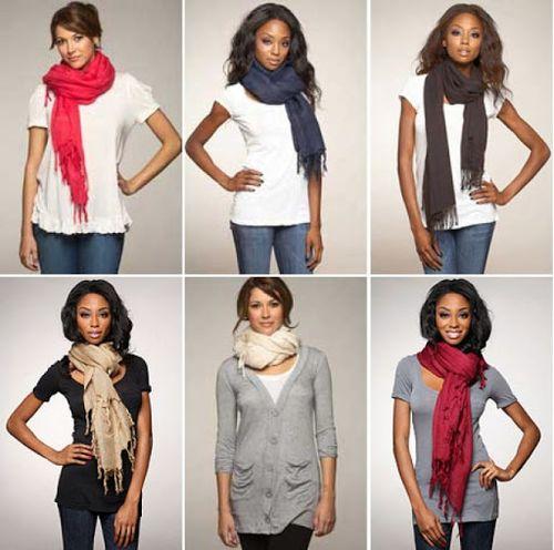 Как красиво завязать шарф?