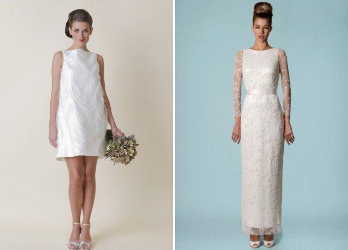 Свадебное платье в ретро стиле