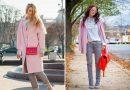 Розовое пальто — модный тренд сезона