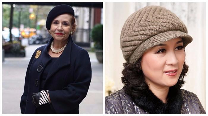 головные уборы для женщин после 50 лет фото 2018
