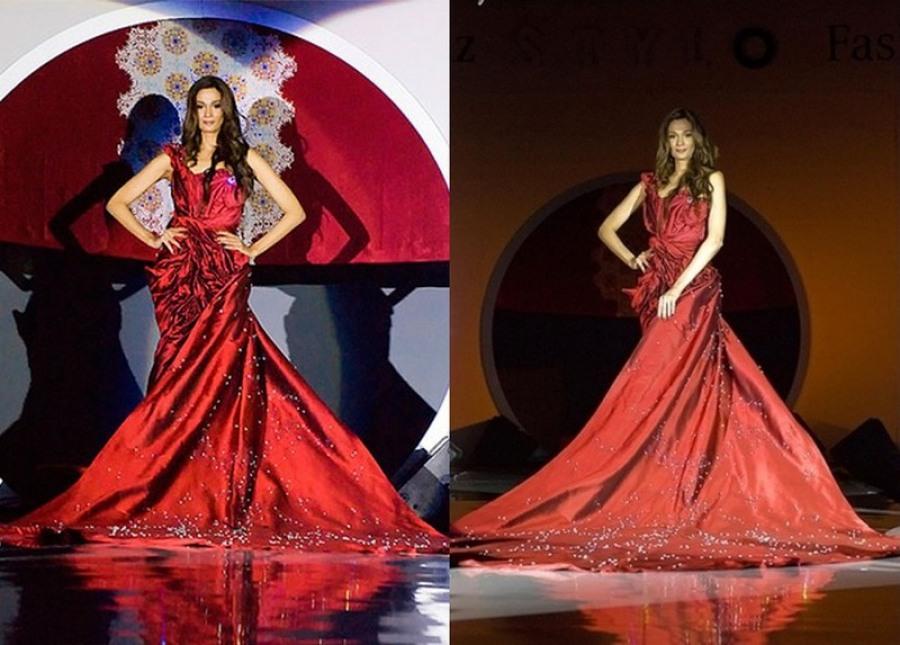 Дорогое платье