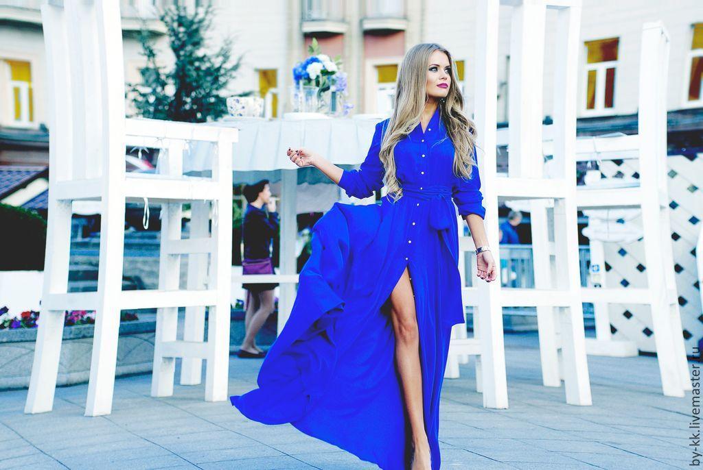 Легкое-длинное платье