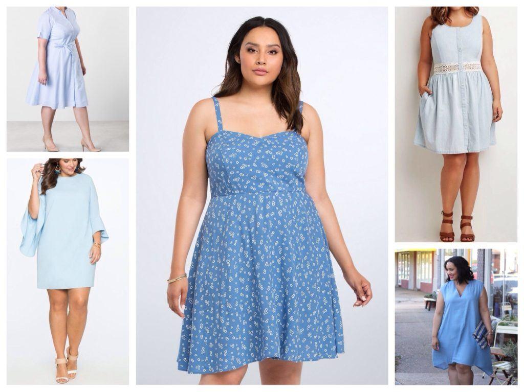 Большие платья
