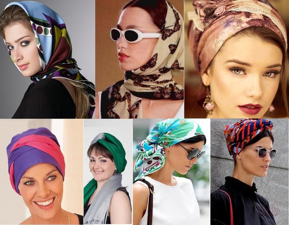 Как по-разному завязывать платок