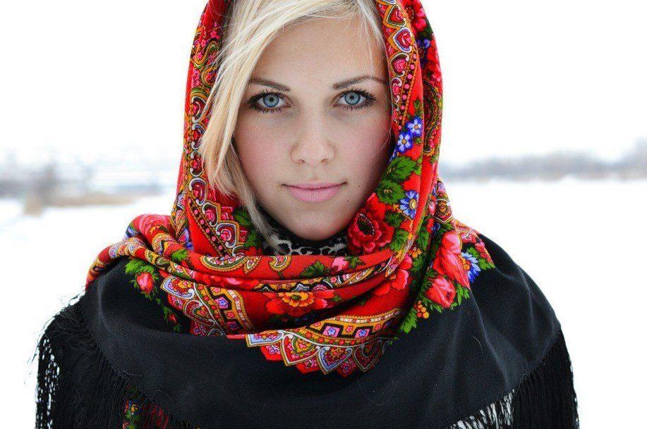 В зимнее время ношение платка