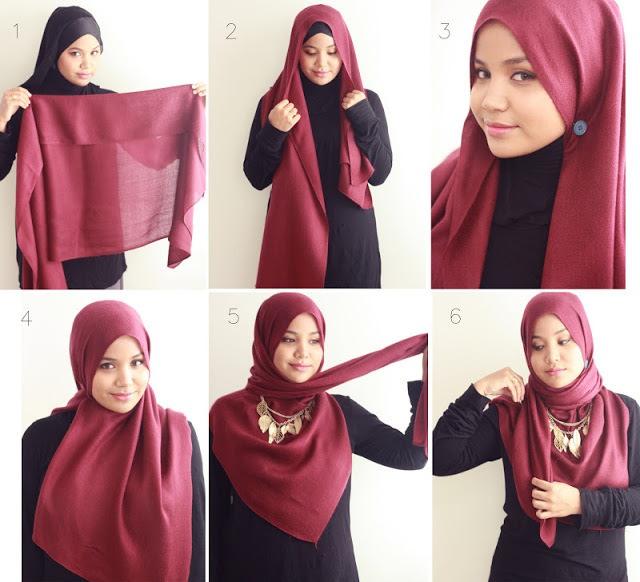 Как завязать шарф в восточном стиле