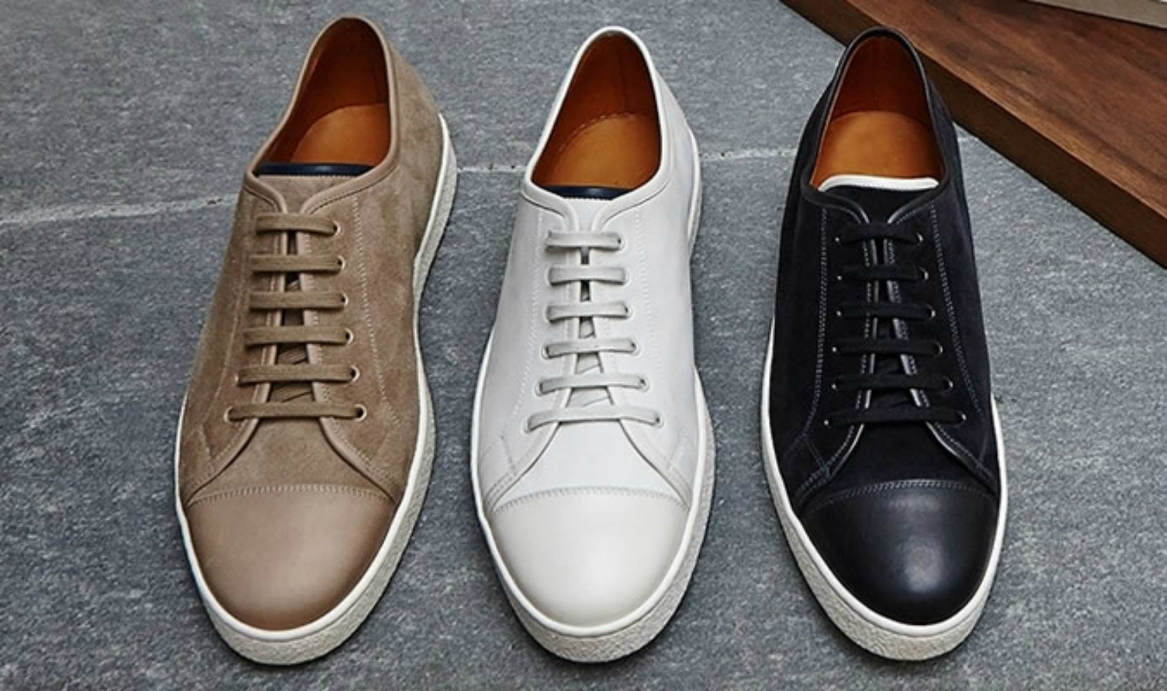 Удобная обувь из кожи
