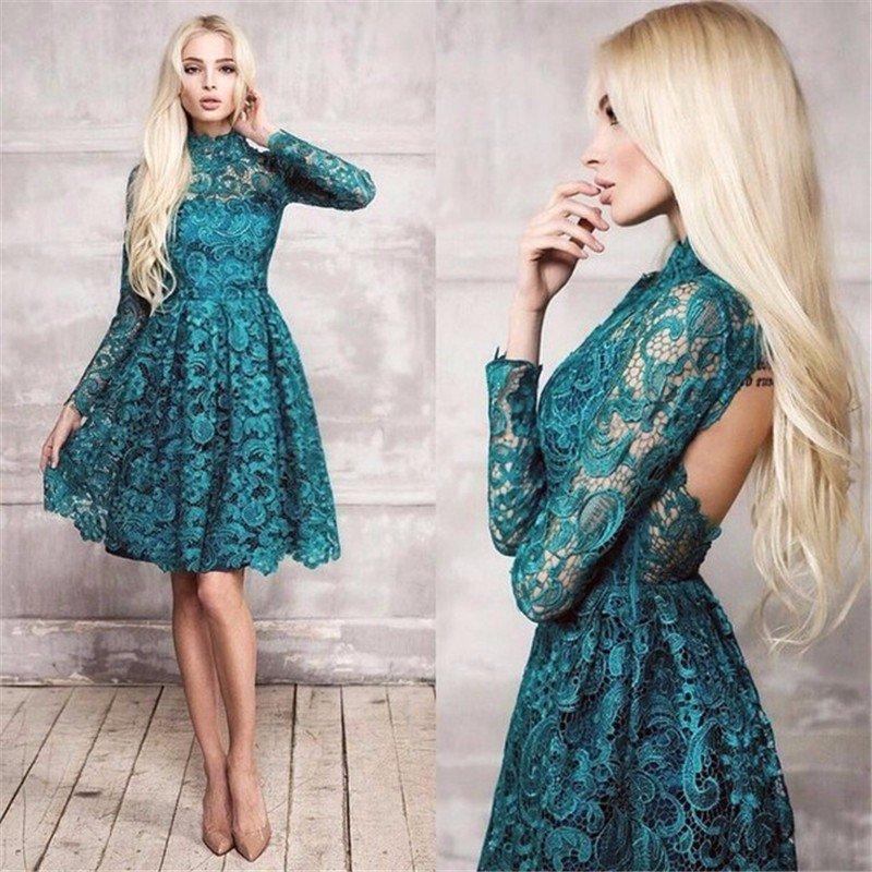 Кружевное пышное платье