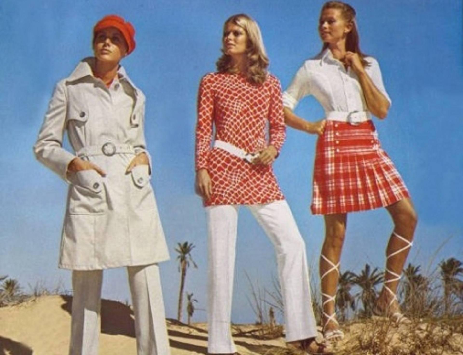 Как одевались женщины в 70-е