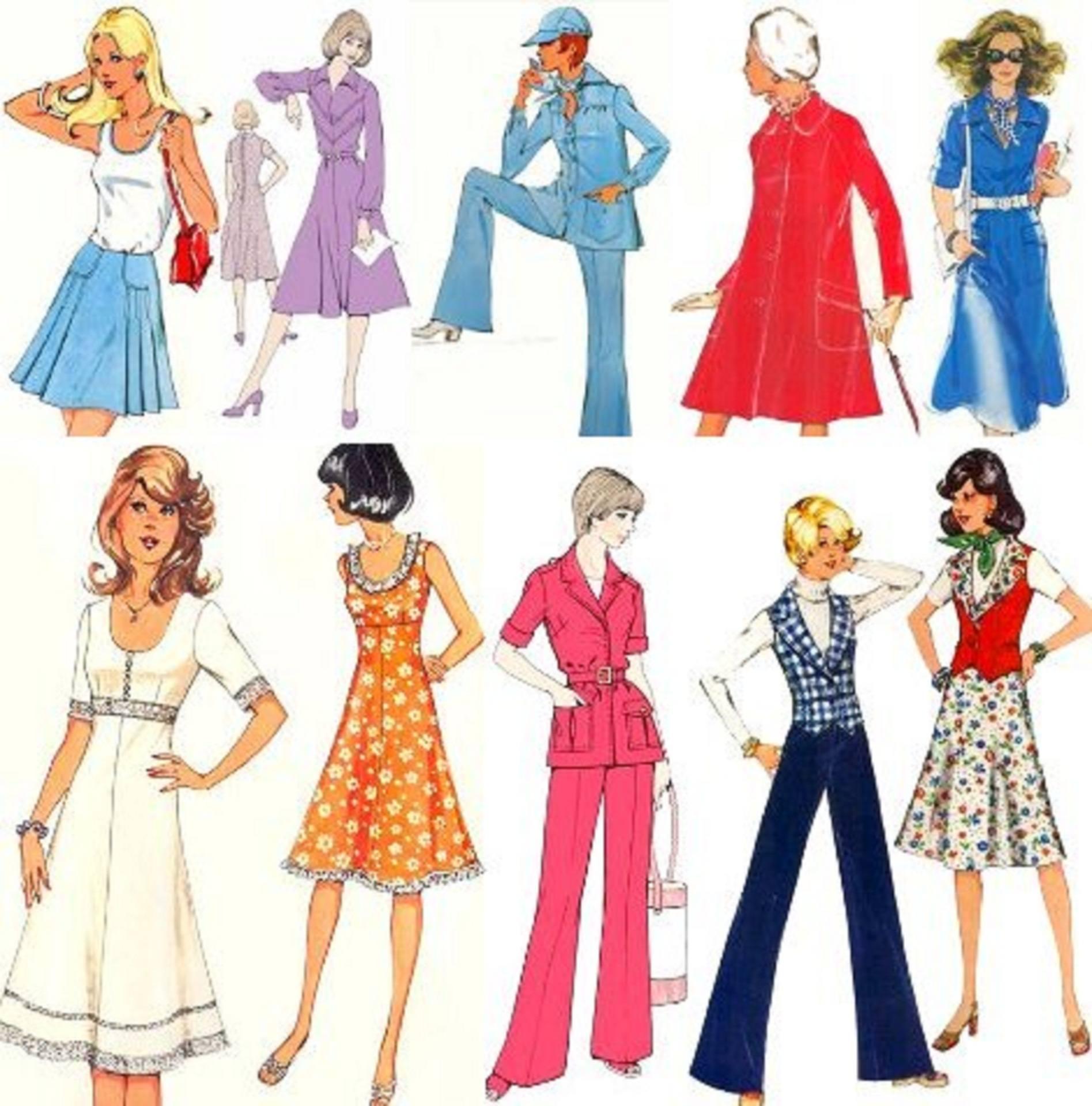 Мода в рисунках
