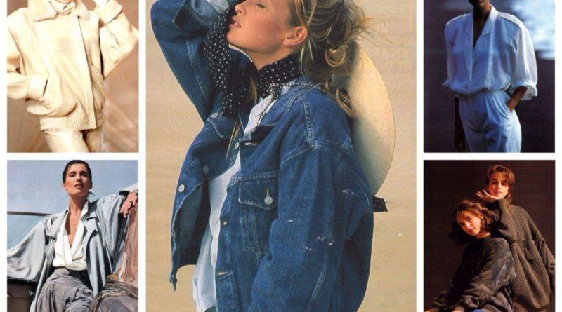 Стиль и мода 80-х годов в одежде