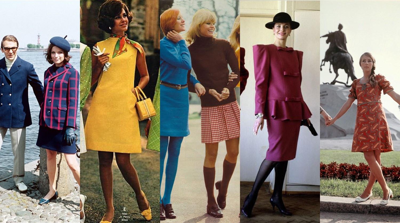 Стильная одежда на модных женщинах